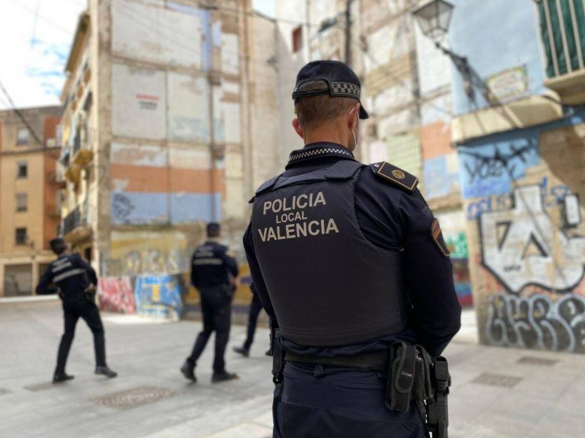 Foto: Foto: Policía Local de Valencia.
