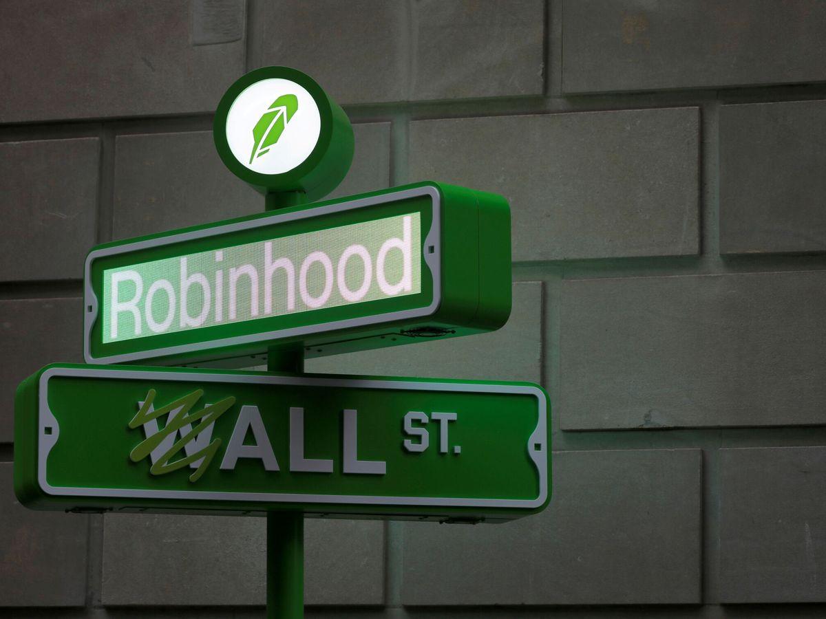 Foto: Salida a bolsa de Robin Hood (Reuters)