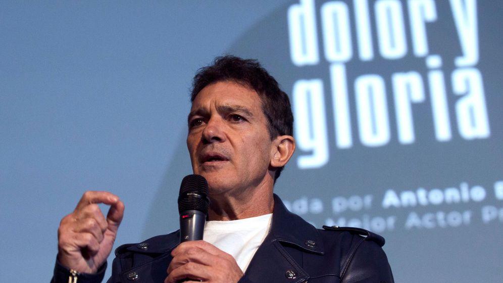 Foto: Antonio Banderas, justo el día de haber sido nominado al premio Óscar como mejor actor por 'Dolor y Gloria' (EFE).