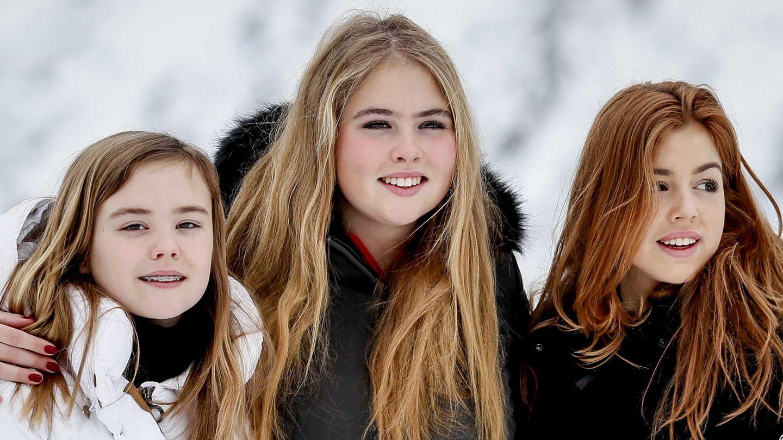 Amalia, Alexia y Ariane. (EFE)