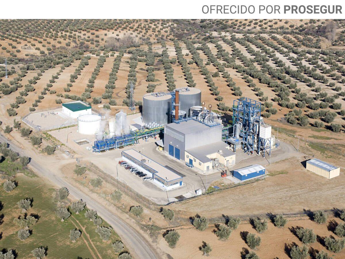 Foto: Instalaciones de Zero Waste Energy en Consuegra (Toledo).