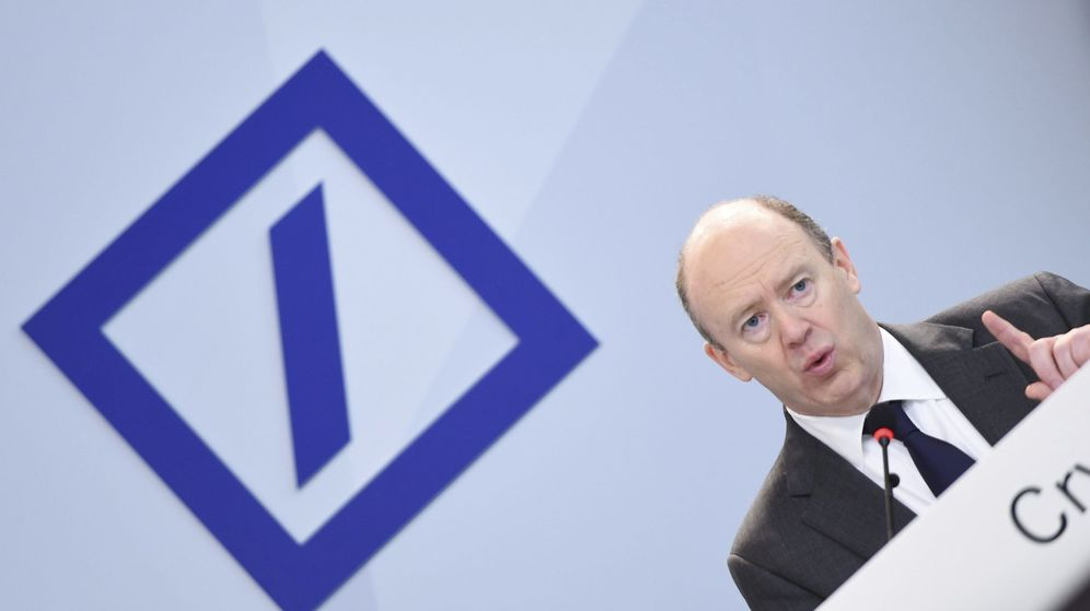 Foto: John Cryan, CEO de Deustche Bank (Efe)