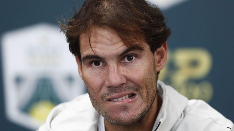 La frustración de Nadal y la lesión que pone en peligro su cita con la Davis de Madrid