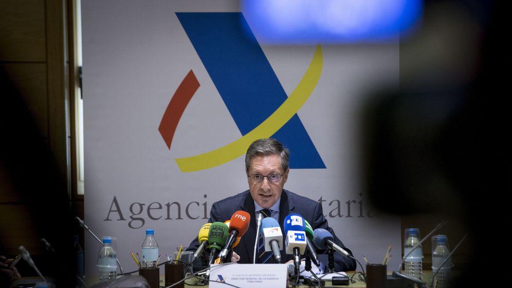 Foto: El director de la Agencia Tributaria, Santiago Menéndez. (EFE)