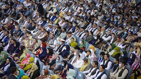 Gran asamblea por la libertad de los prisioneros talibanes