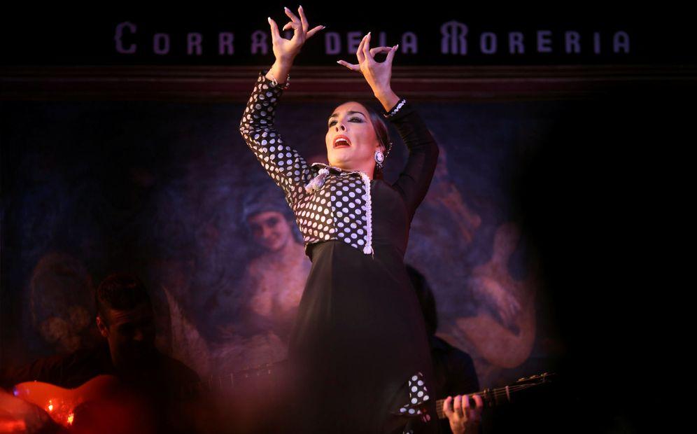 Foto: La bailarina de flamenco Alba Heredia en El Corral de la Morería en Madrid. (Reuters)