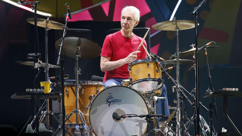 Charlie Watts, batería de la banda británica Rolling Stones. (Reuters)