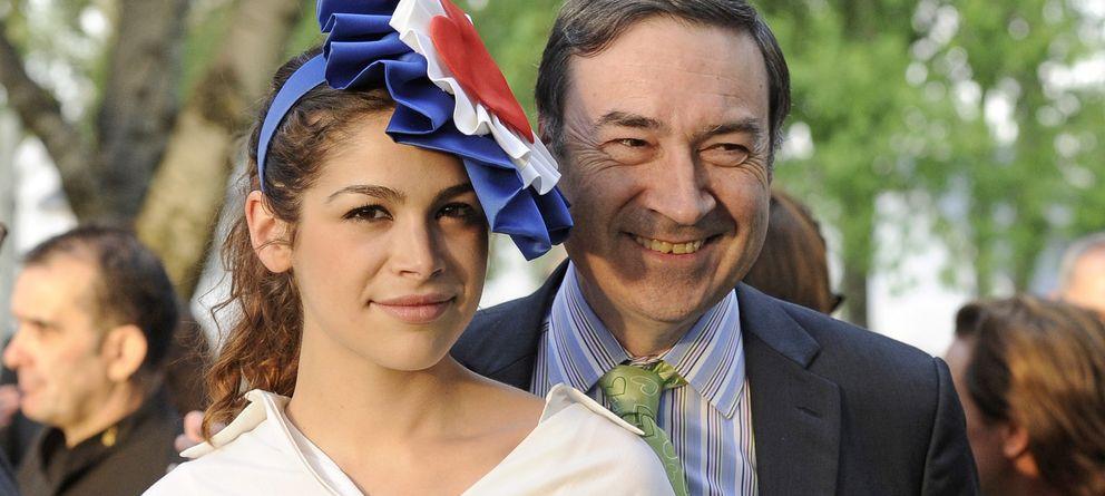 Foto: Cósima Ramírez y su padre, el periodista Pedro J. Ramírez, en una imagen de archivo (Gtres)
