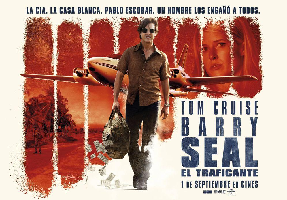 Foto: Cartel de 'Barry Seal: El traficante'