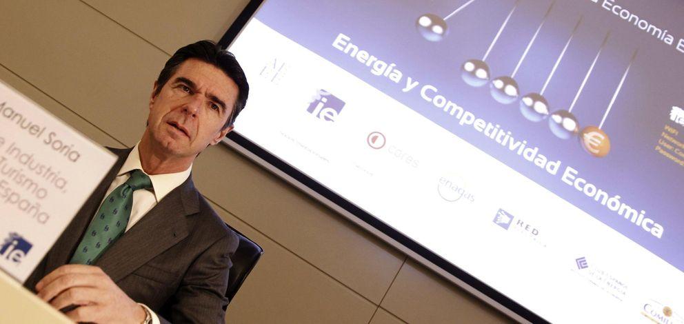 El ministro de Industria, José Manuel Soria. (EFE)