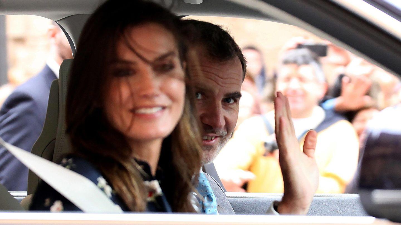 Felipe y Letizia en una imagen de archivo. (Cordon Press)