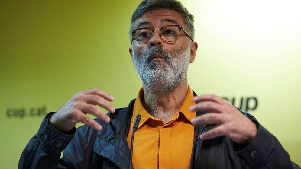 Foto: El diputado de la CUP Carles Riera. (EFE)
