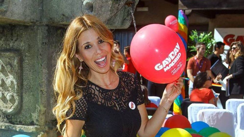 Foto:  Natalia en el Gay Day (Imagen cortesía de @famososxmadrid)