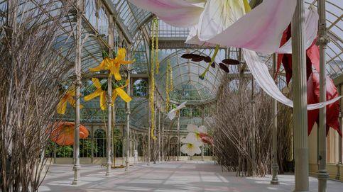 Vuelve la cultura al Retiro y lo hace con flores gigantes
