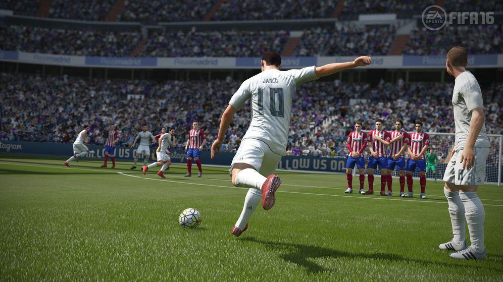 Foto: FIFA 16 resistió cuatro meses hasta que los piratas consiguieron desproteger el juego. (EA Sports)