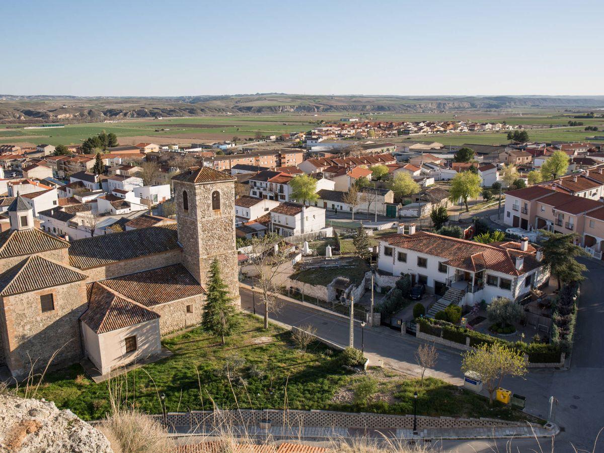 Foto: Vista de Fuentidueña de Tajo, uno de los dos municipios donde no ha ganado el PP. (David Brunat)