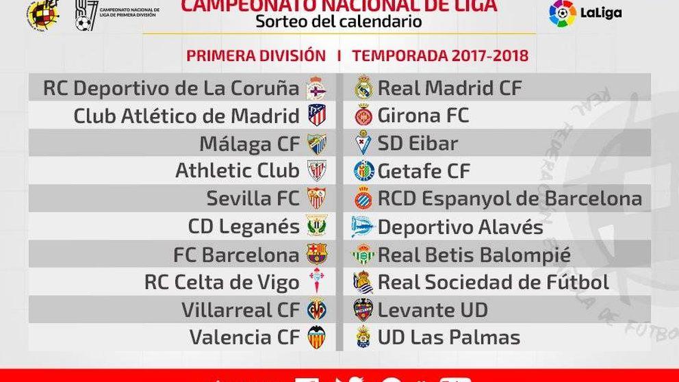 El Real Madrid-Barcelona se juega el 20 de diciembre y el de vuelta el 6 de mayo