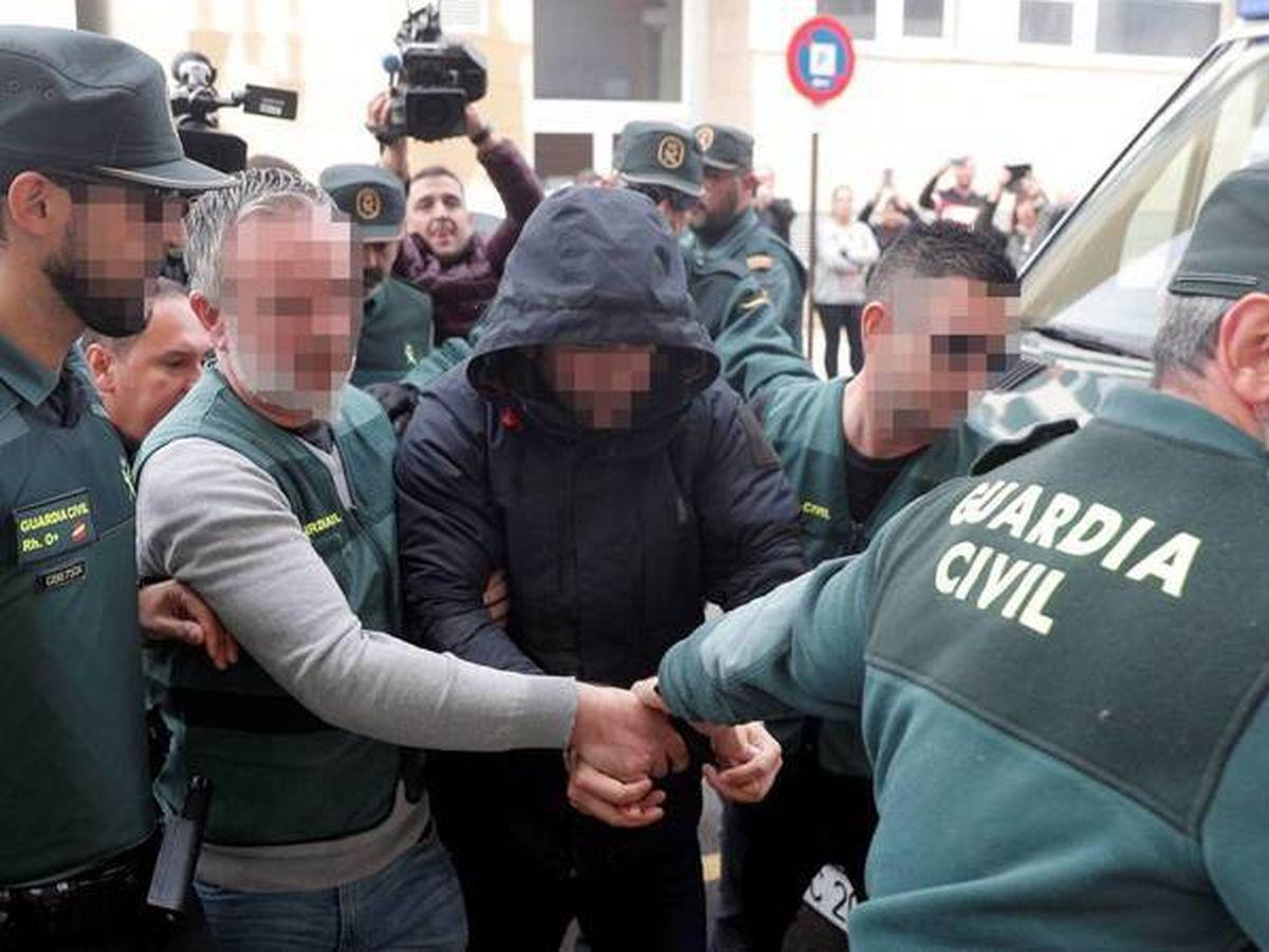 Foto: El detenido por la muerte de Marta Calvo. Foto: Efe
