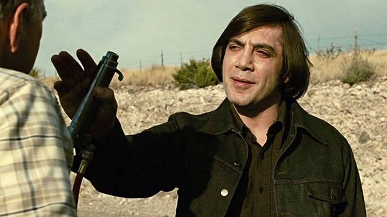 Javier Bardem en el papel de Anton Chigurh en 'No es país para viejos'.