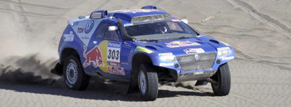 El español Carlos Sainz conquista su primer Dakar