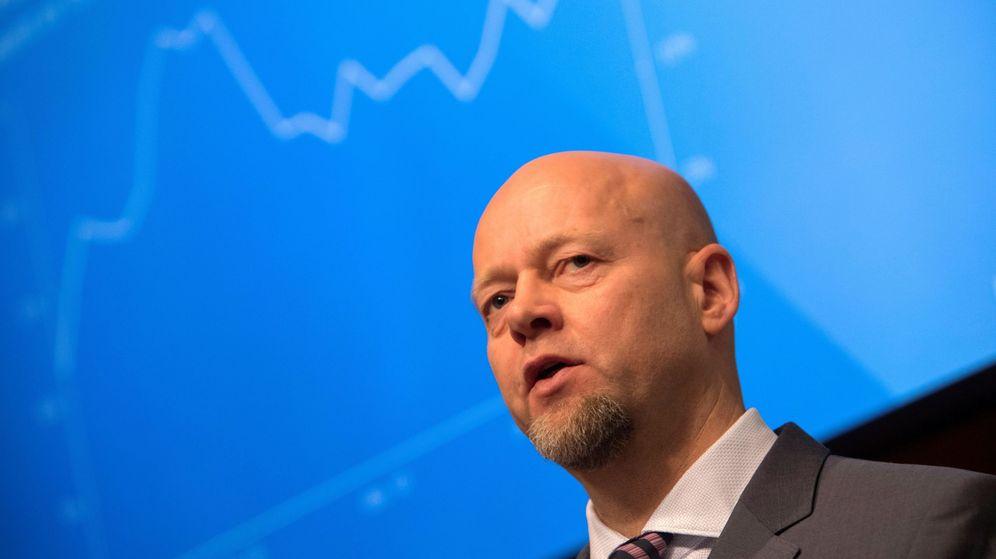 Foto: Yngve Slyngstad, consejero delegado de Norges Bank Investment Management (Efe)