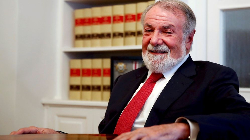 Foto: El exministro del Interior y expresidente del PP vasco Jaime Mayor Oreja. (EFE)