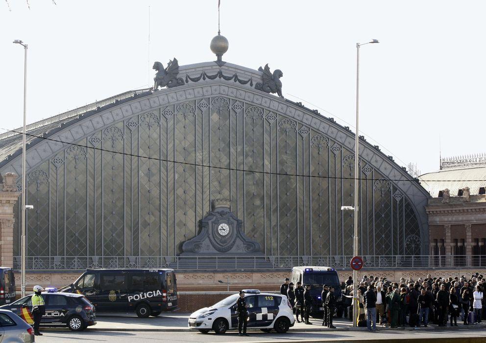Foto: La estación de Atocha fue desalojada el 2 de enero. (Efe)
