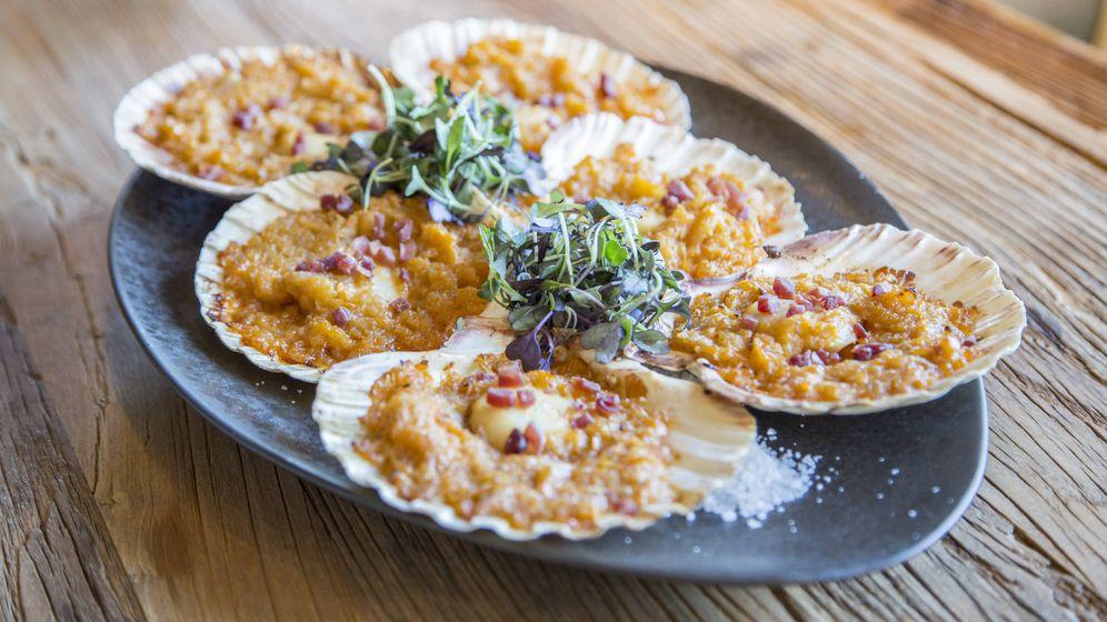 Foto: Vieras, uno de los platos imprescindibles.