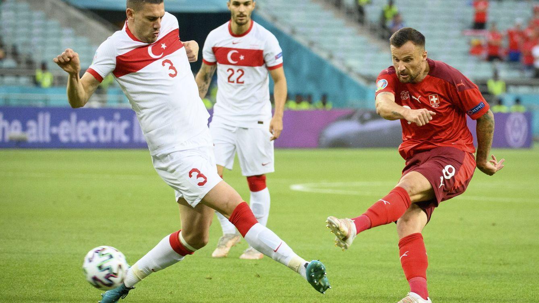 Turquía pincha el globo de las expectativas ante Suiza y cae eliminada (3-1)