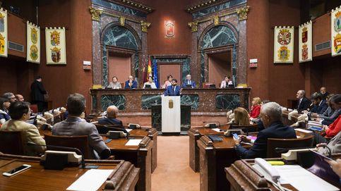 La derecha gana la Asamblea de Murcia: Cs preside y el PP cede un puesto a Vox