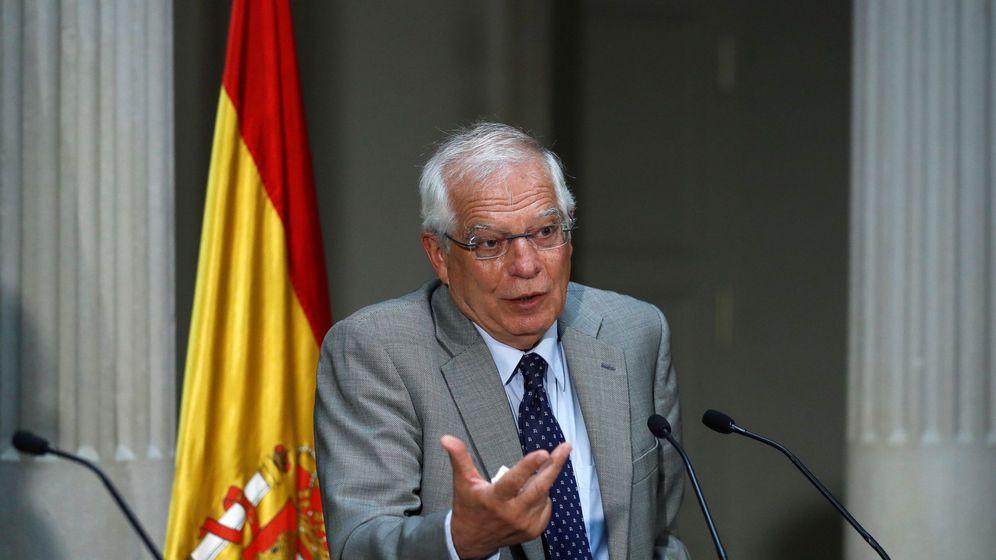 Foto: El ministro de Asuntos Exteriores, Josep Borrell. (EFE)