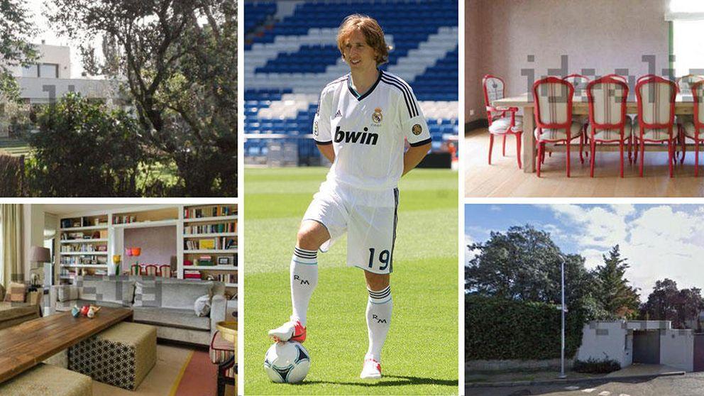 Modric aprovecha su lesión para comprarse una casa de 2,3 millones