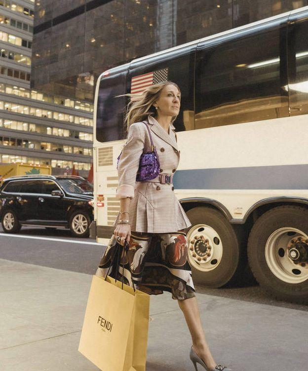 """Foto: """"No es un bolso, es un Baguette"""", palabra de SJP. (Fendi)"""