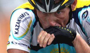 Armstrong busca protagonismo sin la bicicleta