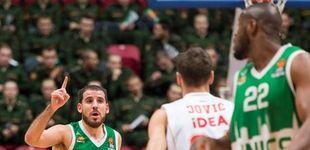 Post de Colom, un caso único en la Euroliga que se queja del trato al jugador español