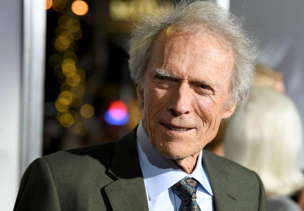 Foto: Clint Eastwood, en la première de 'The Mule'. (Getty)