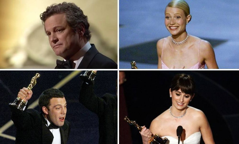 Foto: Colin Firth, Ben Affleck, Gwyneth Paltrow o Penélope Cruz dieron las gracias a Weinstein en sus discursos.