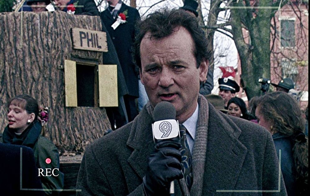 Foto: Bill Murray en 'El día de la marmota'