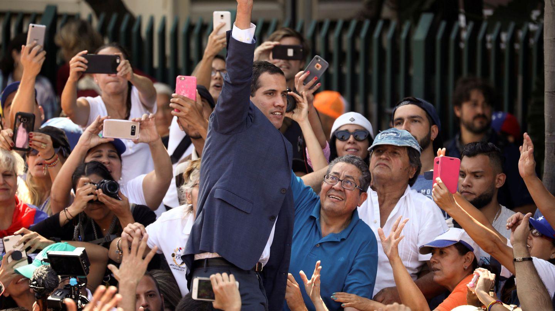 El presidente de la Asamblea Nacional, Juan Guaidó. (Reuters)