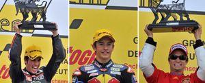 Márquez, Elías y Pedrosa logran el tercer triplete del año