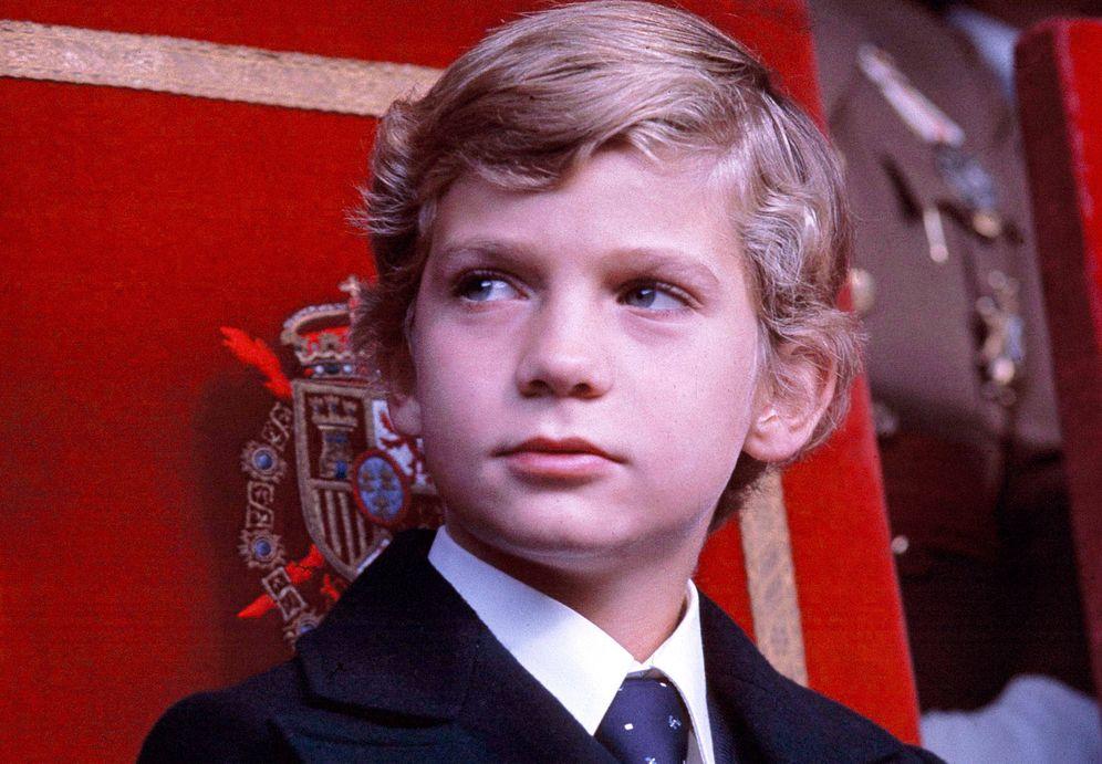 Foto: El entonces príncipe Felipe en un fotomontaje de Vanitatis.