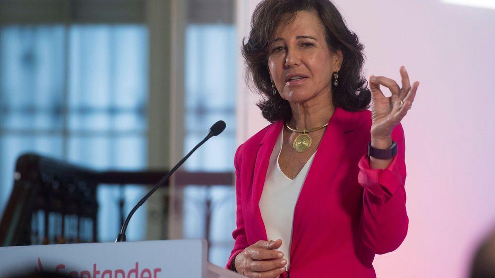 Foto: Ana Botín, presidenta del Banco Santander (Efe)