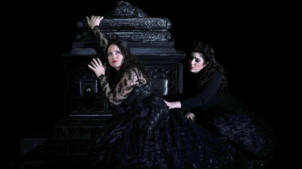 Foto: Ensayo de la ópera 'El pirata'. (EFE)