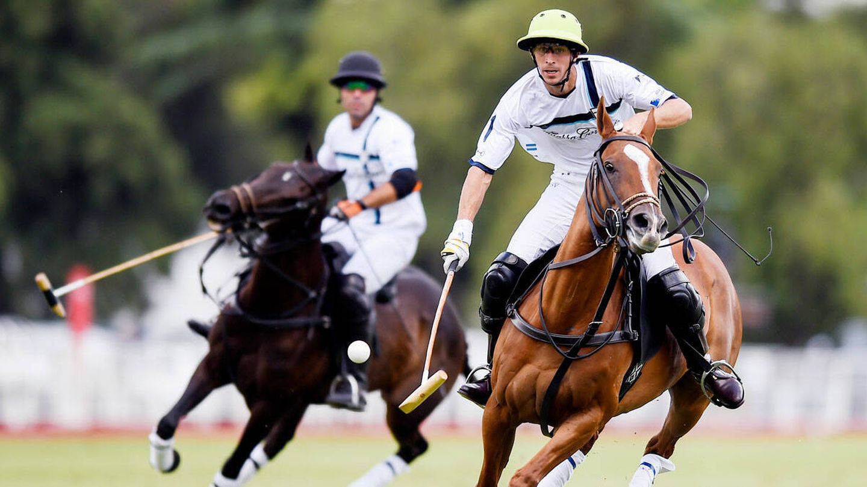 Pascual Sáinz de Vicuña, en un partido de polo. (Getty)