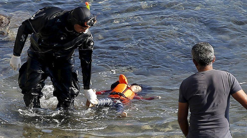 A esta niña ya no le importa lo que hoy decida Europa