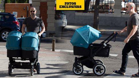 Exclusiva: primeras imágenes de Javier Cámara con sus mellizos