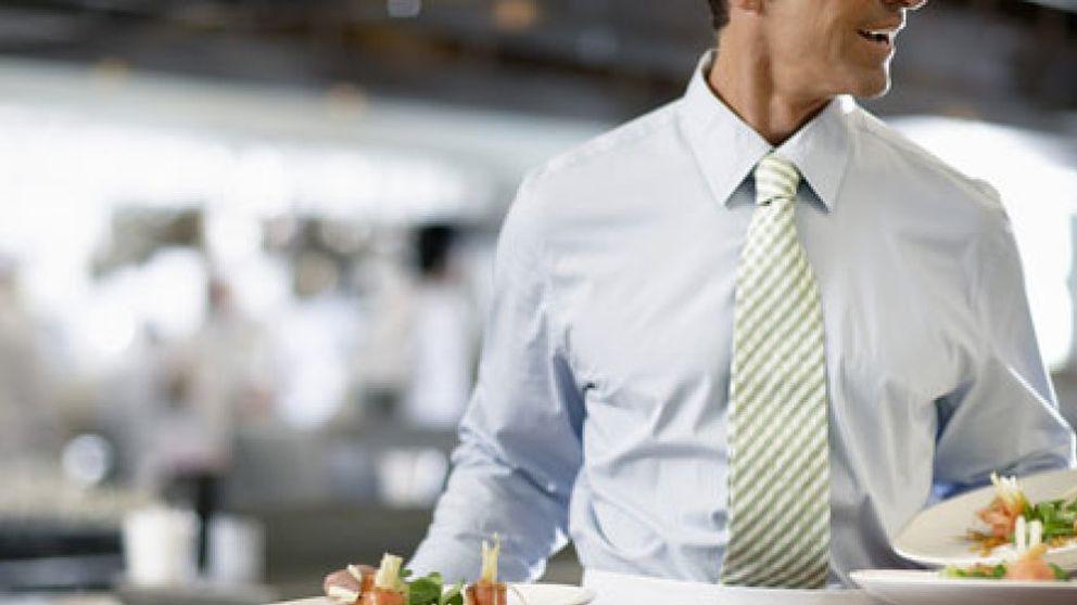 No es un camarero, es un intelectual precario