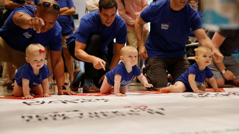 Foto: Los bebés que nacen en el siglo XXI tienen nombres muy distintos a los de sus padres (Reuters/Shannon Stapleton)