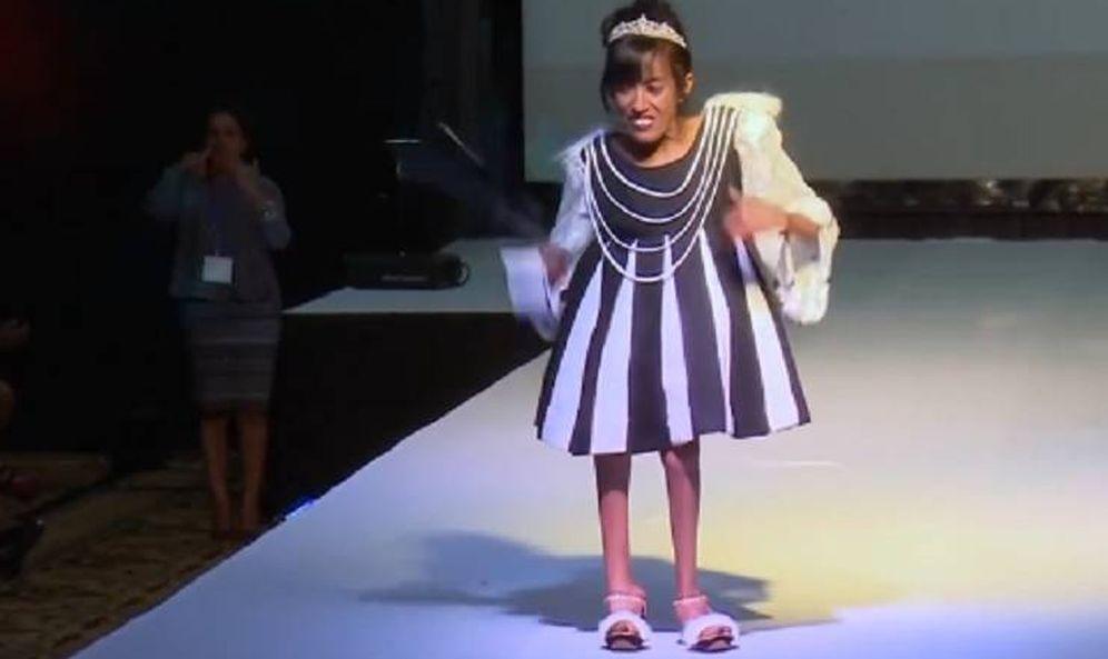 Foto: Una de las modelos que desfiló en Etiopía