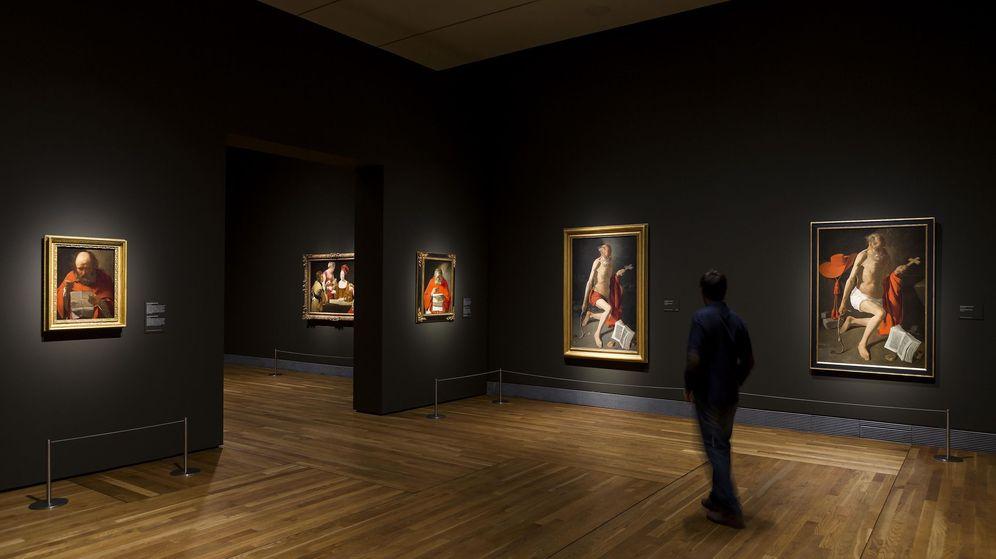 Foto: Imagen de la exposición de Georges de La Tour (Museo del Prado)